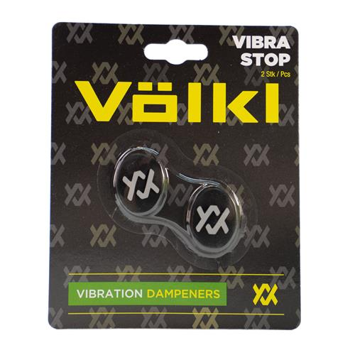 Volkl Vibrastop 2pk Black/yellow