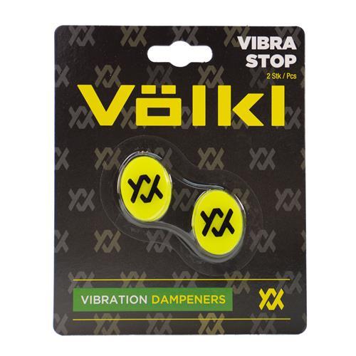 Volkl Vibrastop 2pk Yellow/black