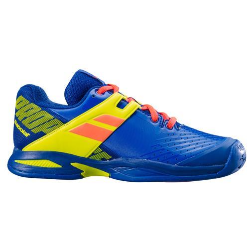 Babolat Propulse Clay Junior Shoe (Blue/Fluo)