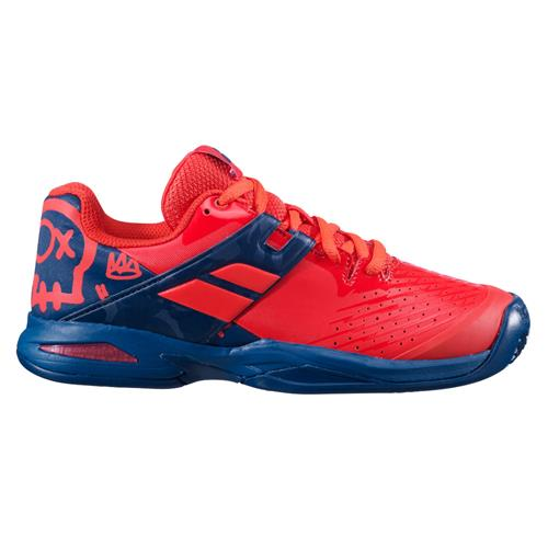 Babolat Propulse Clay Junior Shoe (Red/Blue)