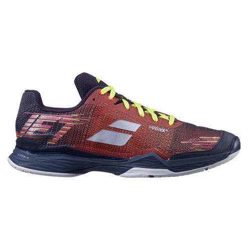 Babolat Jet Mach II Clay Mens Shoe (Black/Orange)