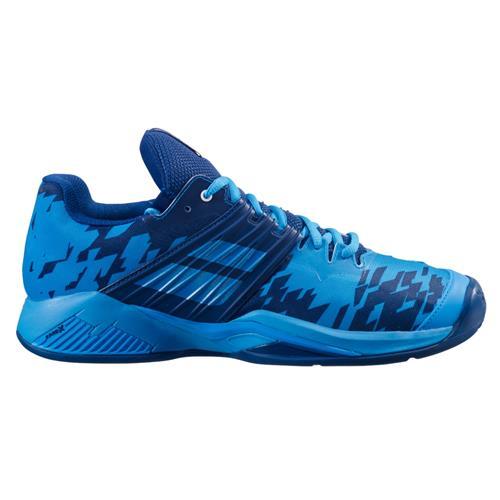 Babolat Propulse Fury Clay Mens Tennis Shoes (Drive Blue)