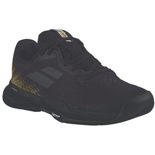 Babolat Jet Mach 3 All Court Junior Shoe (Black/Gold)