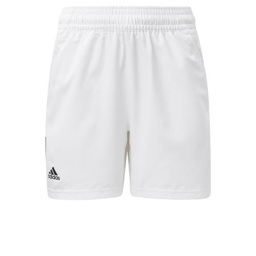 Adidas Boys Club 3S Short (White/Black)