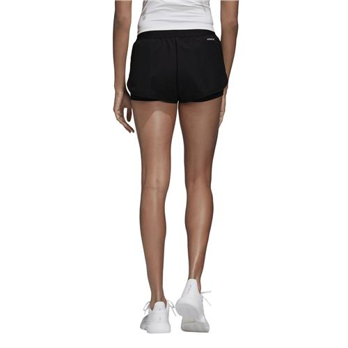 Adidas Womens Club Short (Black/Silver/White)