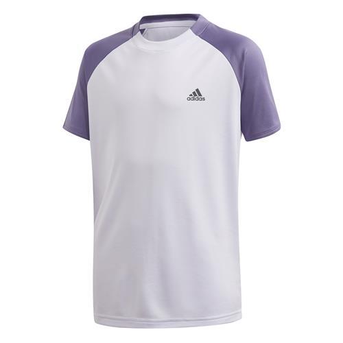 Adidas Boys Club Tee (Purple)