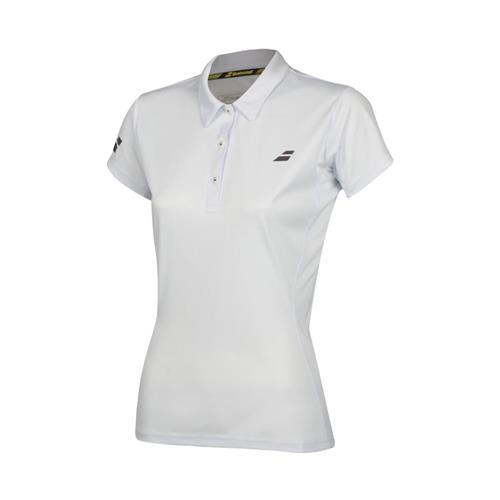 Babolat Womens Core Club Polo (White)