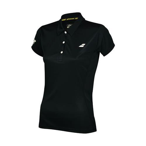 Babolat Womens Core Club Polo (Black)